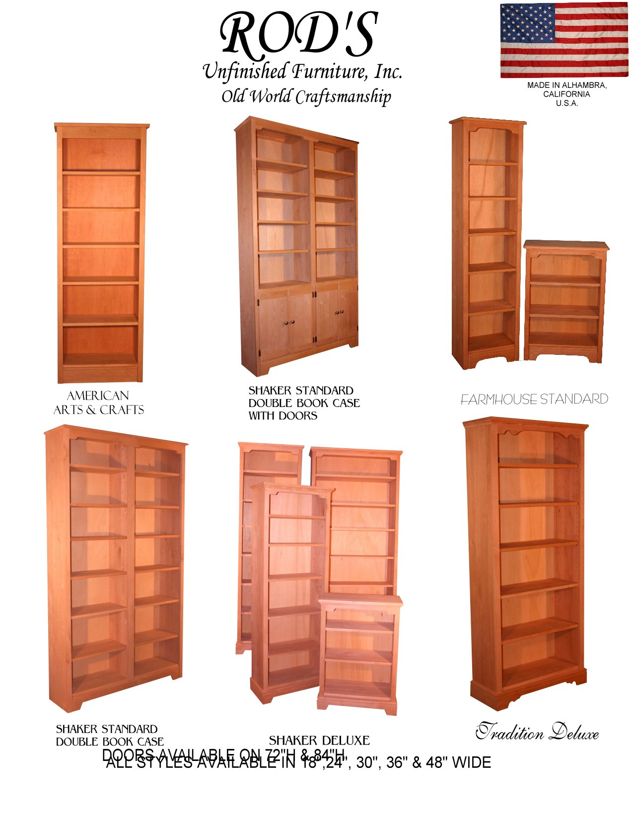 bookcases countrywood furniture