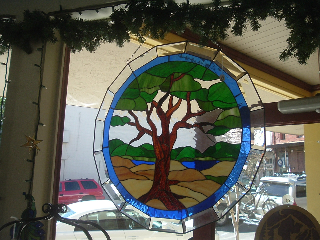 Stained Glass Countrywood Furniture